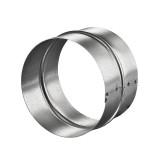 Патрубок (соединитель) Вентс ПМ150Ц d=150 мм металл, оцинк.
