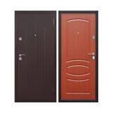 Дверь входная, 860х2050 мм, стандарт, стройгост 7-2, правая