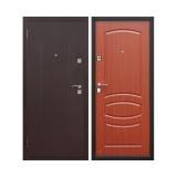 Дверь входная, 860х2050 мм, стандарт, стройгост 7-2, левая