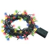 Гирлянда светодиодная 100LED, 230В, многоцветная, 5м, 8 режимов, IP20