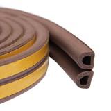 Уплотнитель тип D коричневый, 2х50 м