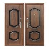 Дверь входная, 860х2050 мм, эконом, K550-2, левая