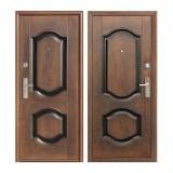 Дверь входная, 860х2050 мм, эконом, K550-2, правая