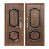 Дверь входная, 960х2050 мм, эконом, K550-2, левая