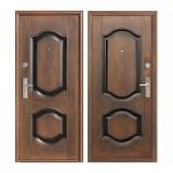 Дверь входная, 960х2050 мм, эконом, K550-2, правая